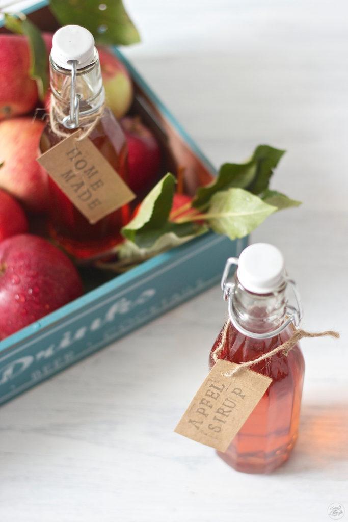 Fruchtiger Apfelsirup nach einem Rezept von Sweets & Lifestyle