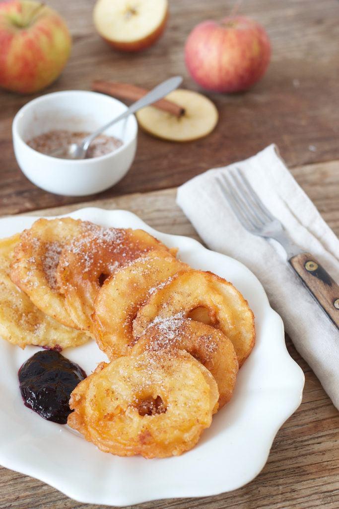 Köstliche gebackene Apfelringe von Sweets and Lifestyle