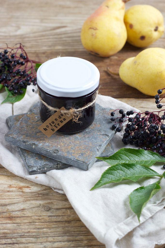 Fruchtige Holunder Birnen Marmelade von Sweets & Lifestyle