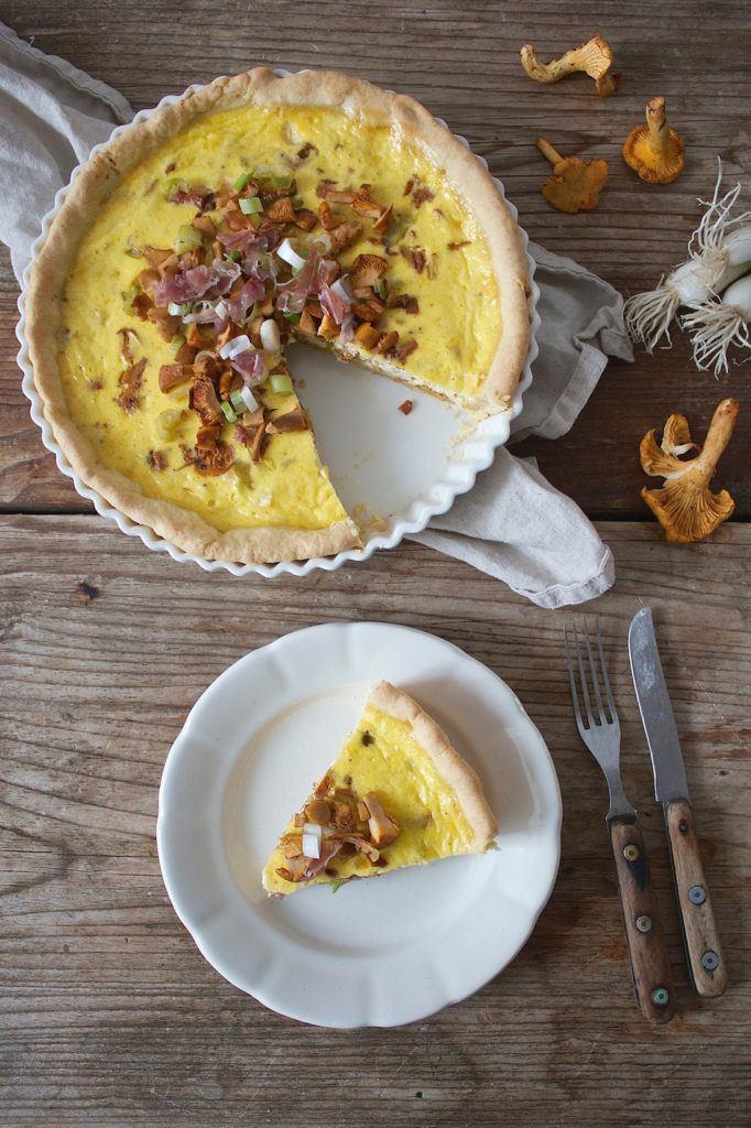 Koestliche Eierschwammerl Quiche von Sweets & Lifestyle