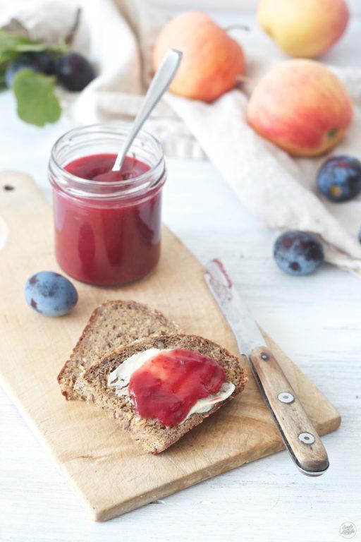 Leckere Zwetschken Apfel Marmelade von Sweets & Lifestyle