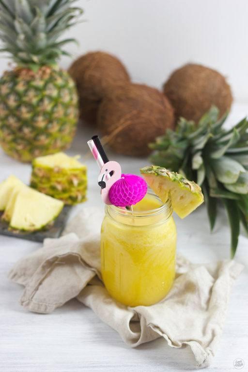 Pineapple Orange Coco Drink mit King Island Kokoswasser von Sweets & Lifestyle