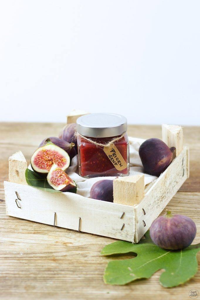 Rezept für einen köstlichen selbst gemachten Feigensenf von Sweets & Lifestyle