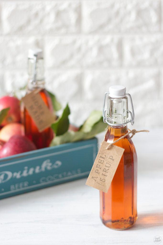 Selbst gemachter Apfelsirup ohne Dampfentsafter von Sweets & Lifestyle
