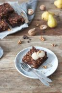 Walnuss Brownies nach einem Rezept von Sweets and Lifestyle