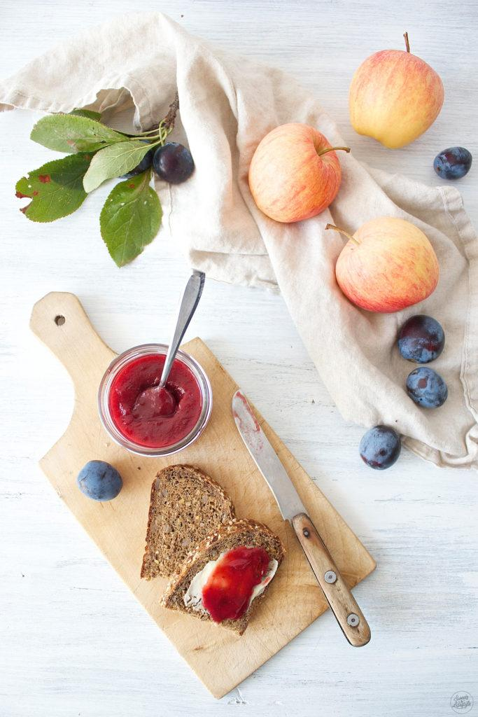 Fruchtige Zwetschken Apfel Marmelade von Sweets & Lifestyl