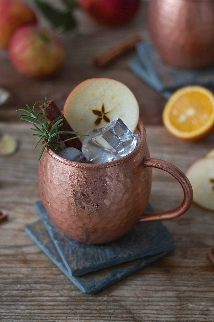 Herbstliche Apple Moscow Mule nach einem Rezept von Sweets & Lifestyle®