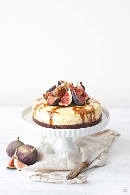 Cheesecake mit Feigen und Balsamessig von Sweets & Lifestyle