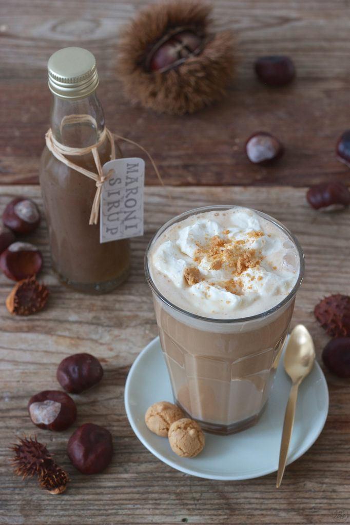 Chestnut Latte mit selbst gemachtem Maronisirup von Sweets & Lifestyle®