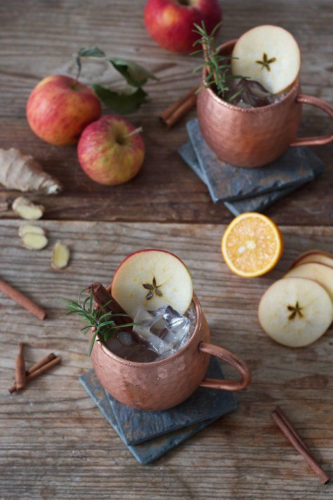 Herbstliche Apple Moscow Mule von Sweets & Lifestyle®