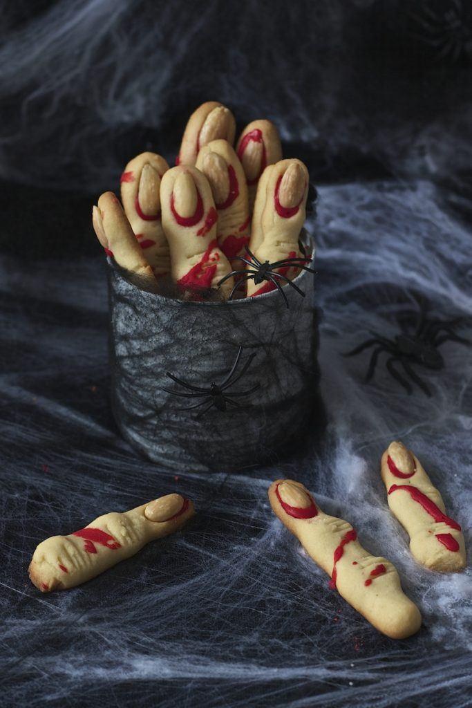 Hexenfinger Rezept für Halloween von Sweets & Lifestyle