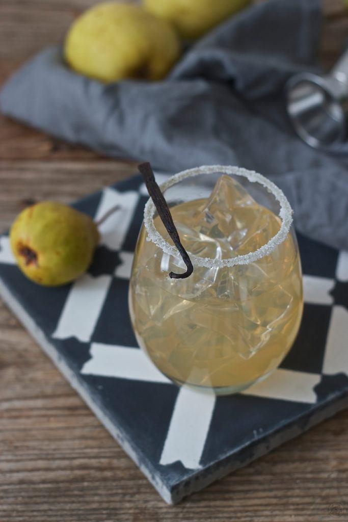 Köstlicher, erfrischender Birne Vanille Cocktail von Sweets & Lifestyle