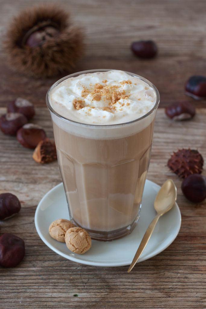 Leckerer Chestnut Latte mit selbst gemachtem Maronisirup zubereitet von Sweets & Lifestyle®