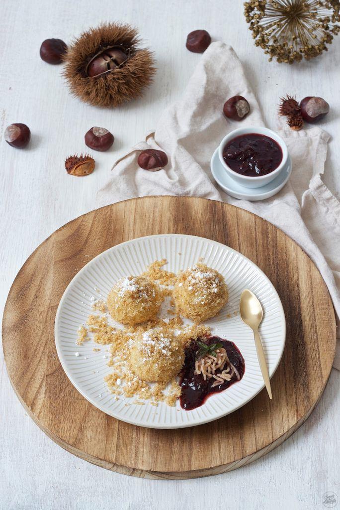 Flaumige Maroniknödel aus Topfenteig von Sweets & Lifestyle®