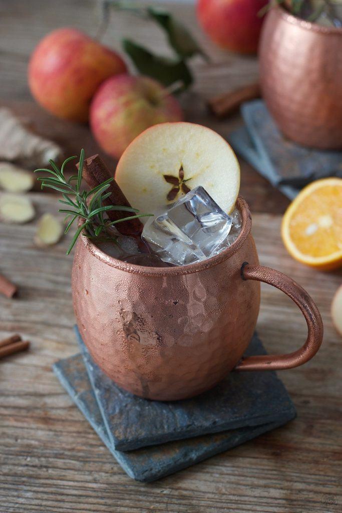 Herbstliche Moscow Mule mit Apfelsaft von Sweets & Lifestyle®
