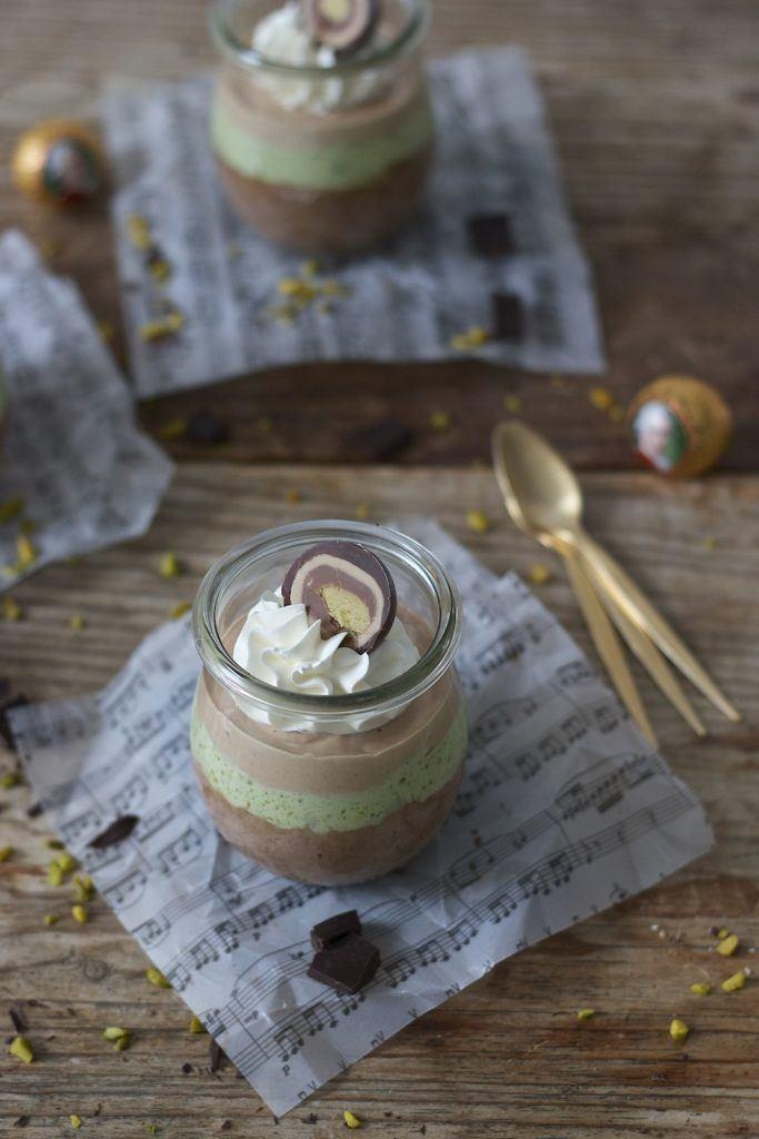 Cremiges Mozartmousse im Glas serviert von Sweets & Lifestyle®