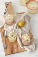 Nougatmousse mit Birnenkompott von Sweets & Lifestyle