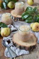 Nougatmousse mit Birnenkompott im Glas von Sweets & Lifestyle®
