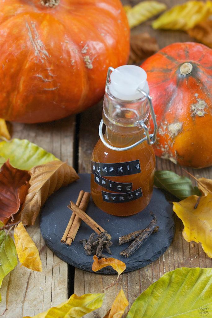 Selbst gemachter Pumpkin Spice Syrup von Sweets & Lifestyle®