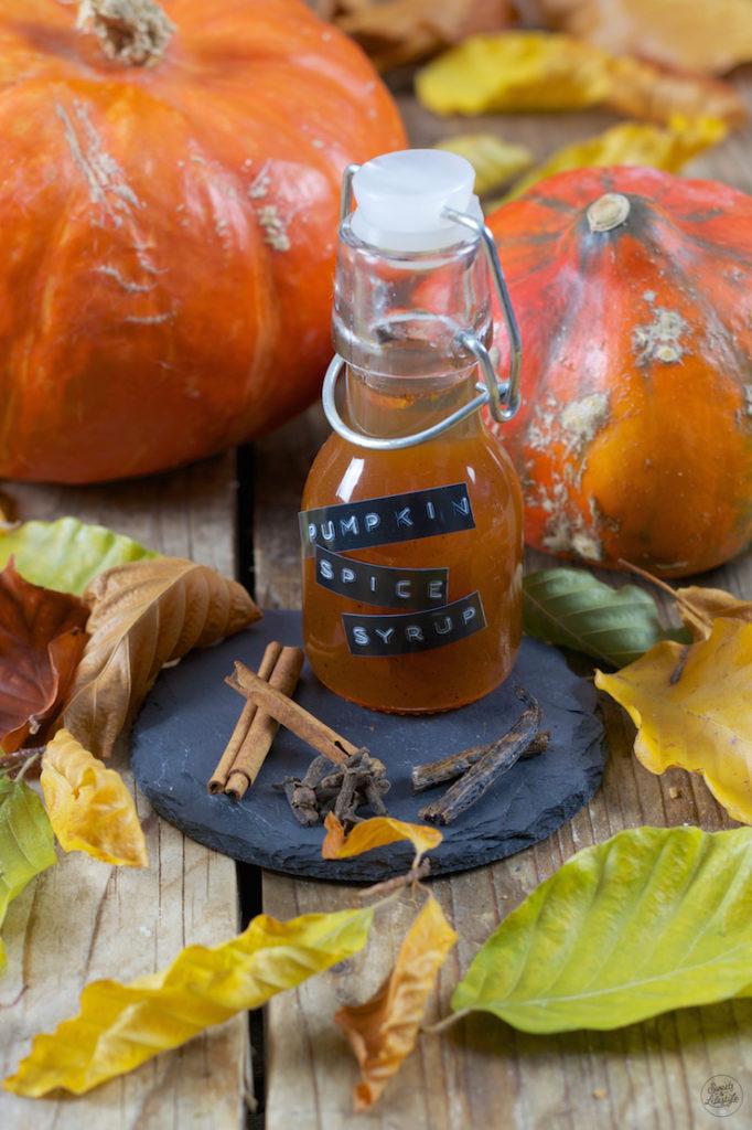 umpkin Spice Syrup Rezept von Sweets & Lifestyle®