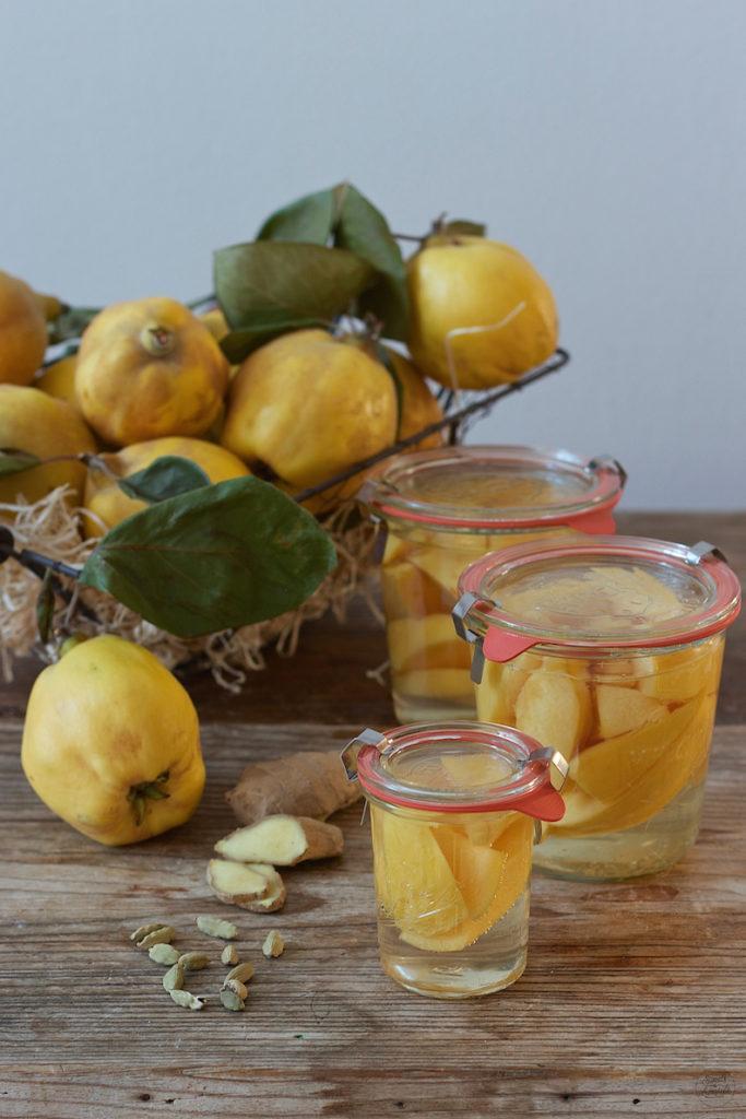Quittenkompott Rezept mit Kardamom und Ingwer von Sweets & Lifestyle®