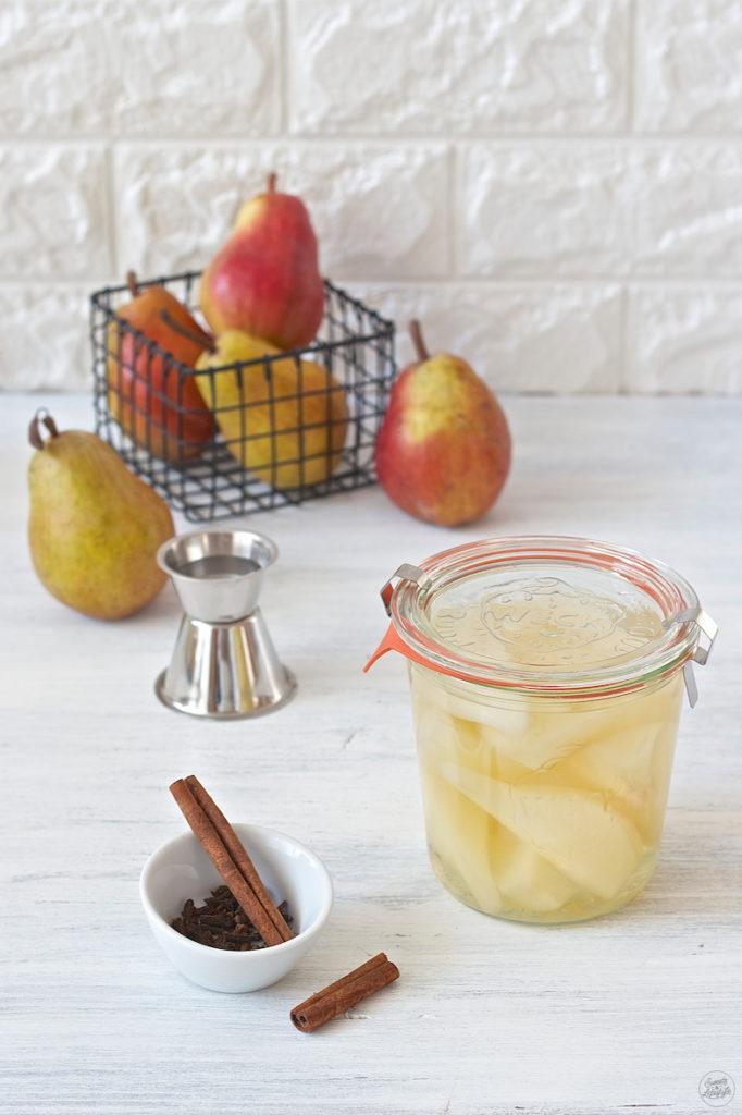 Selbst gemachtes Birnenkompott mit Orangenlikör von Sweets & Lifestyle®