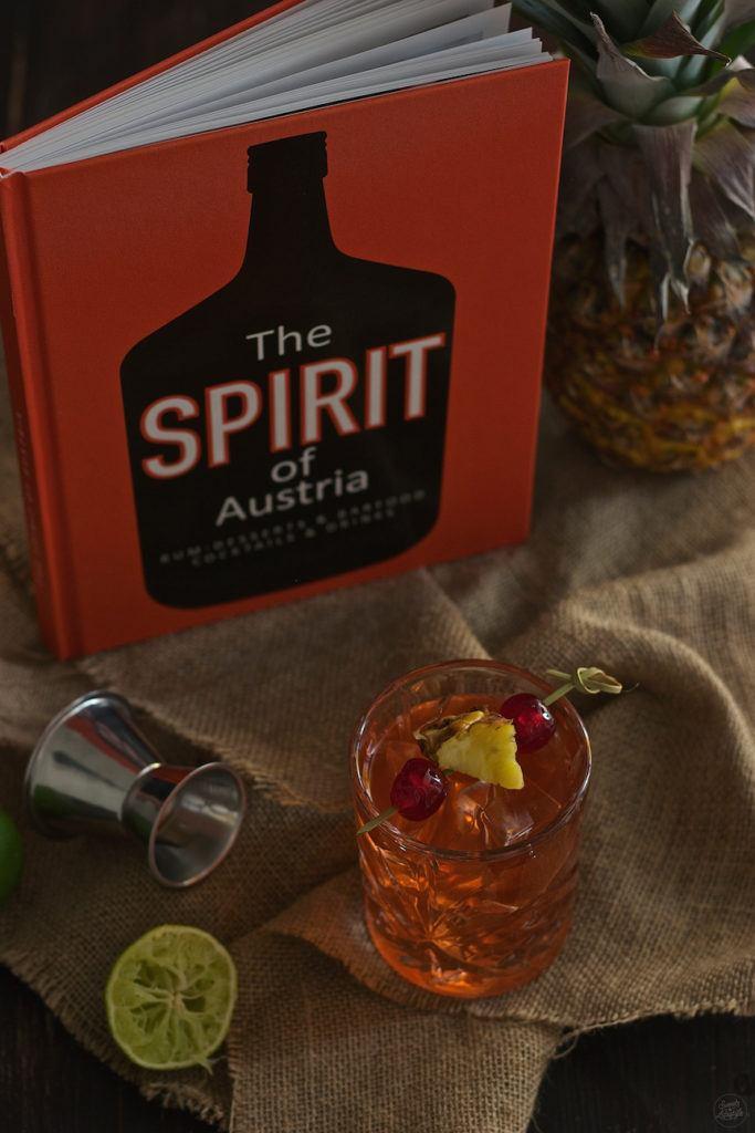Skinny Colada Rezept von Heinz Kaiser aus dem Buch The Spirit auf Austria von Sweets & Lifestyle