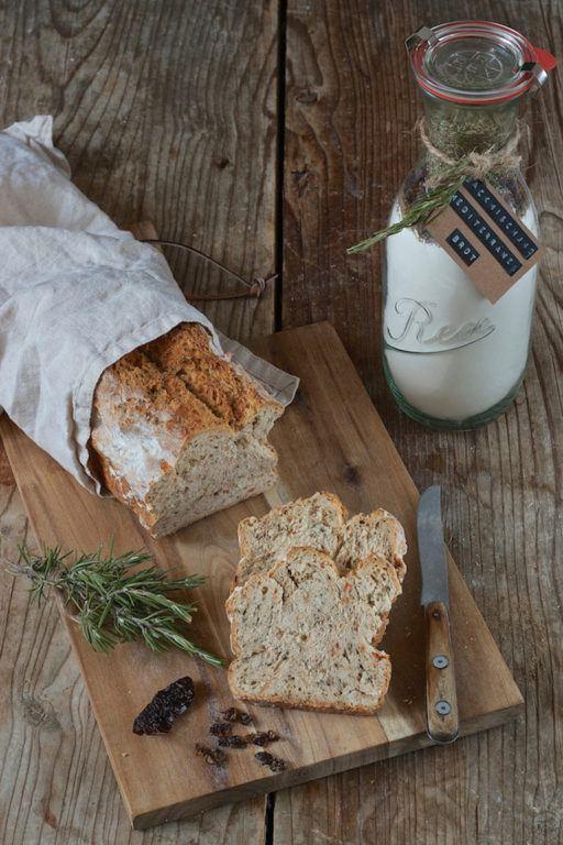Backmischung für ein Mediterranes Brot als Geschenk aus der Küche von Sweets & Lifestyle®