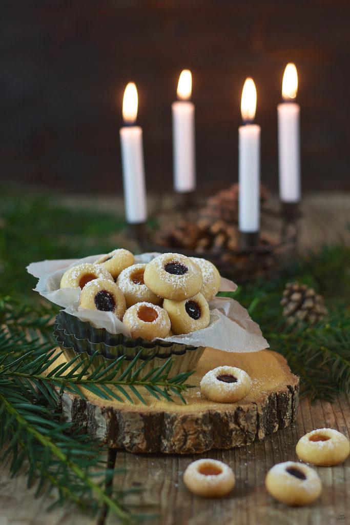Engelsaugen, auch Husarenkrapfen genannt, von Sweets & Lifestyle®
