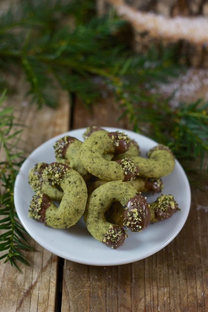 Kürbiskernkipferl als Weihnachtskekse von Sweets and Lifestyle®