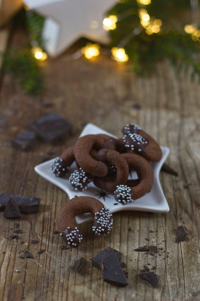 Leckere Schokokipferl für Weihnachten von Sweets and Lifestyle®