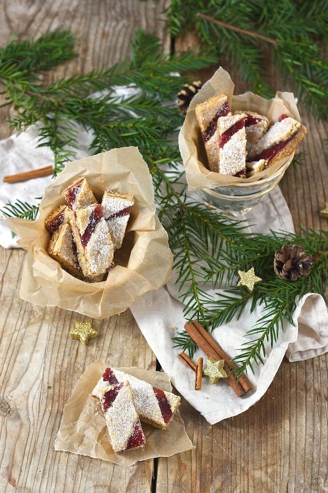 Linzer Streifen Weihnachtskekse von Sweets & Lifestyle®