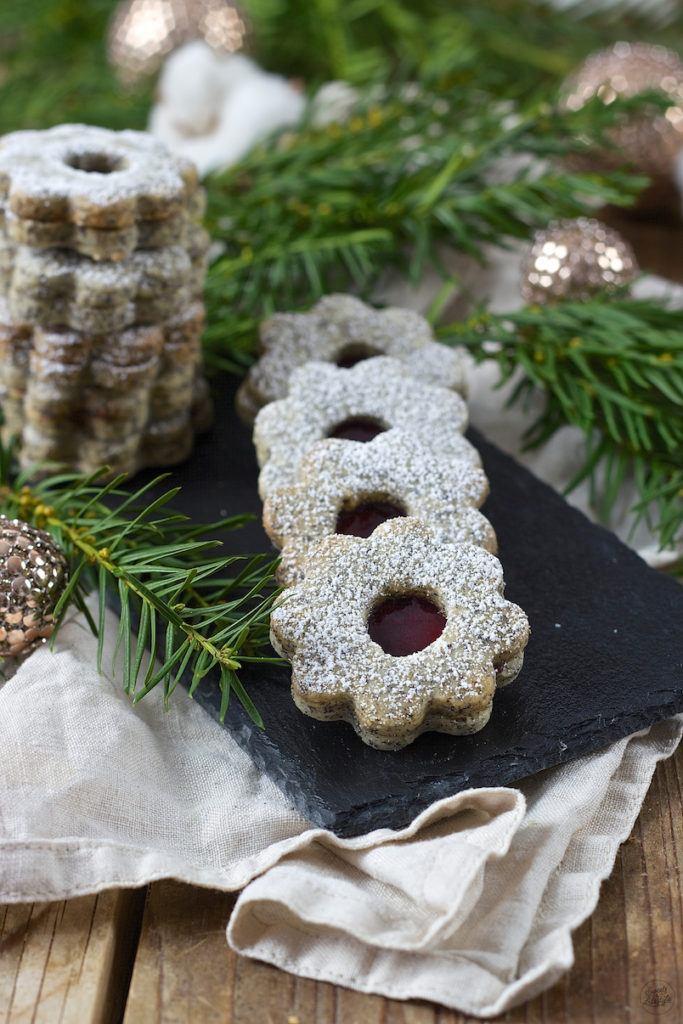 Mohnkekse mit Powidl gefüllt von Sweets & Lifestyle®