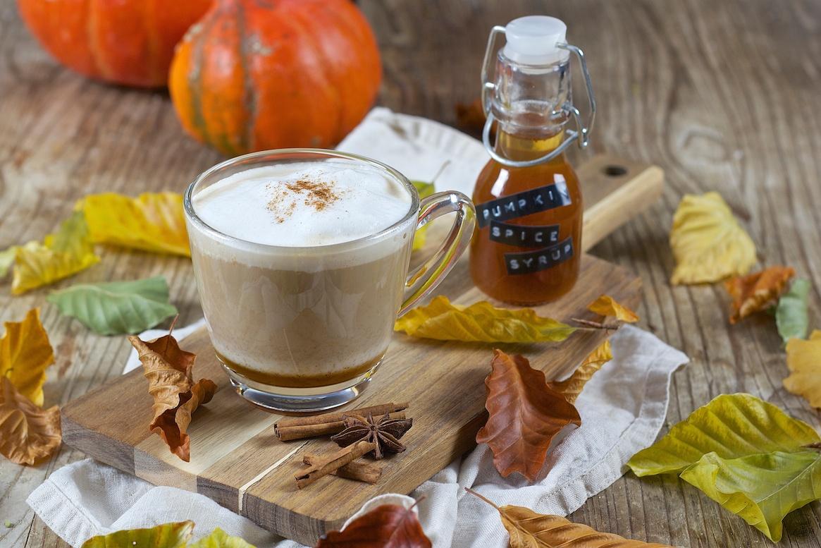 pumpkin spice latte k rbisgew rz latte macchiato. Black Bedroom Furniture Sets. Home Design Ideas