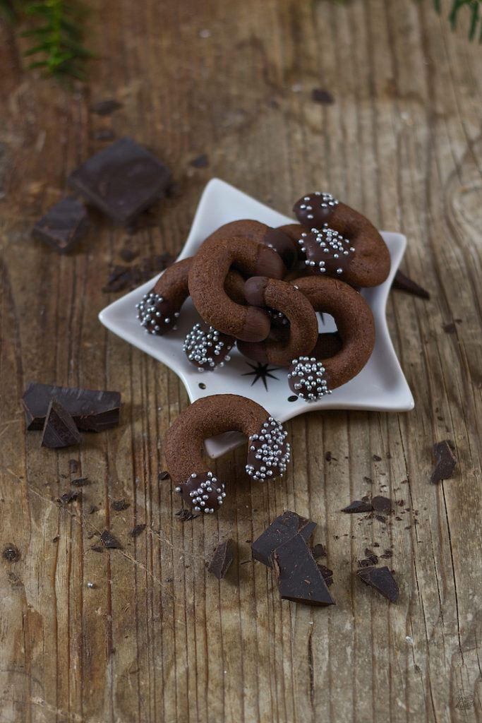 Schokokipferl als Weihnachtskekse von Sweets and Lifestyle®