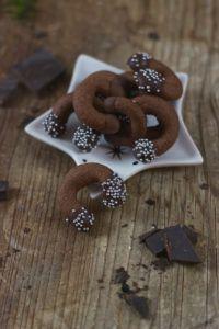 Köstliche Schokokipferl als Weihnachtskekse von Sweets and Lifestyle®