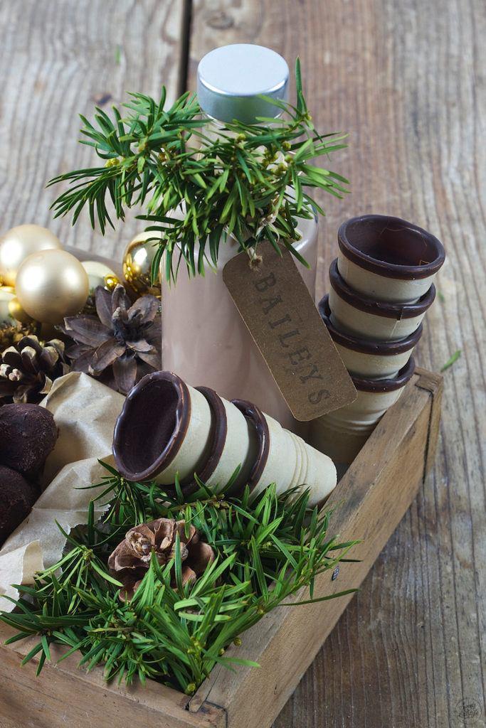 Selbst gemachter Baileys als Weihnachtsgeschenk aus der Küche von Sweets & Lifestyle®