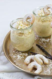 Weihnachtliches Vanillekipferlmousse nach einem Rezept von Sweets and Lifestyle®