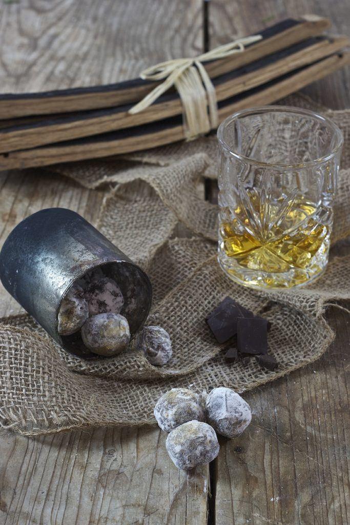 Whiskytrüffel als selbst gemachtes Geschenk aus der Küche von Sweets & Lifestyle®