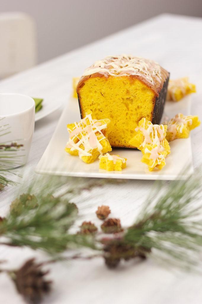Winterkuchen Orange mit weißer Schokolade und Orangenpunschglasur von Sweets & Lifestyle®