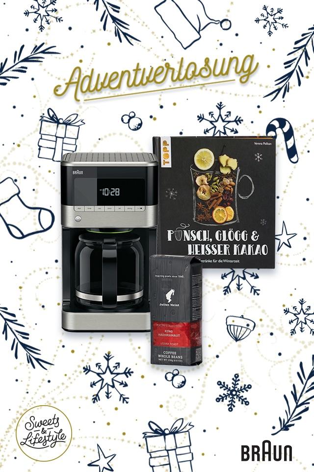 Kaffeeset bei der Adventverlosung von Sweets & Lifestyle®