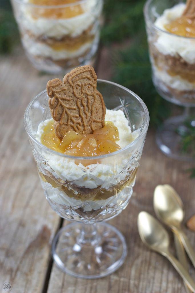 Bratapfel Spekulatius Dessert als Weihnachtsdessert von Sweets & Lifestyle®