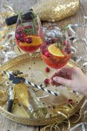 Cranberry Orange Spritz als Aperitif von Sweets & Lifestyle®