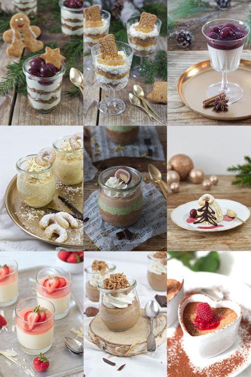 Die besten Weihnachtsdesserts im Glas von Sweets & Lifestyle®