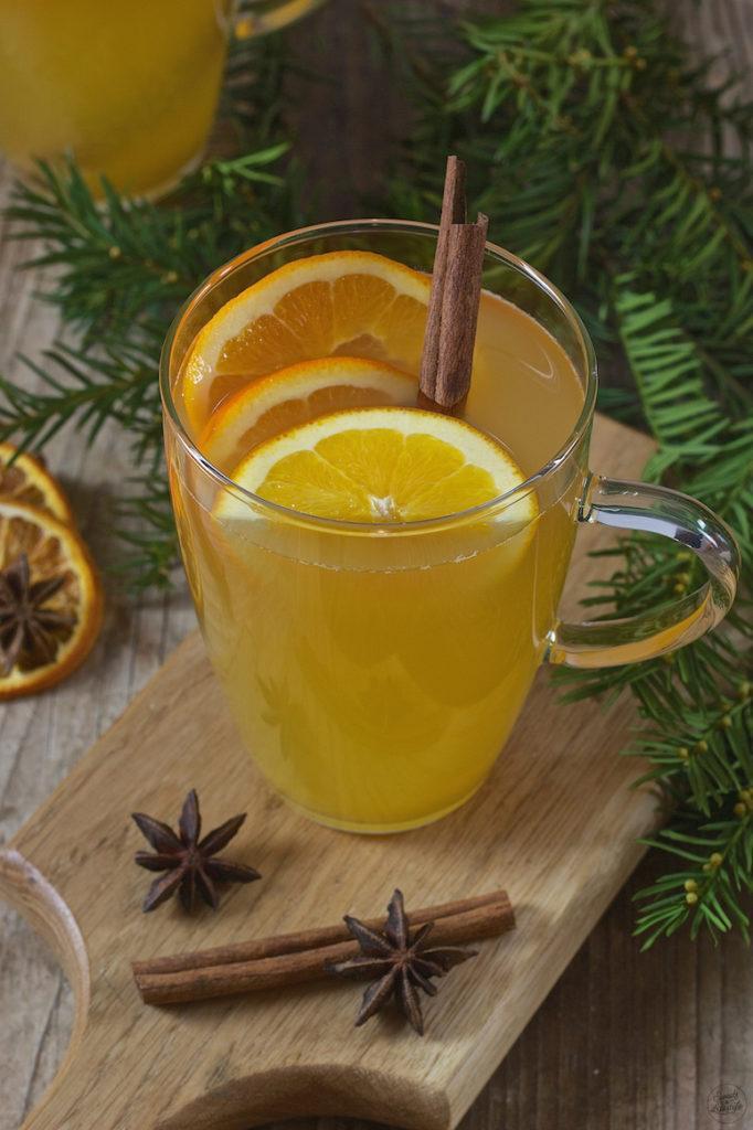 Glüh Gin Rezept mit Apfel und Orangen von Sweets & Lifestyle®