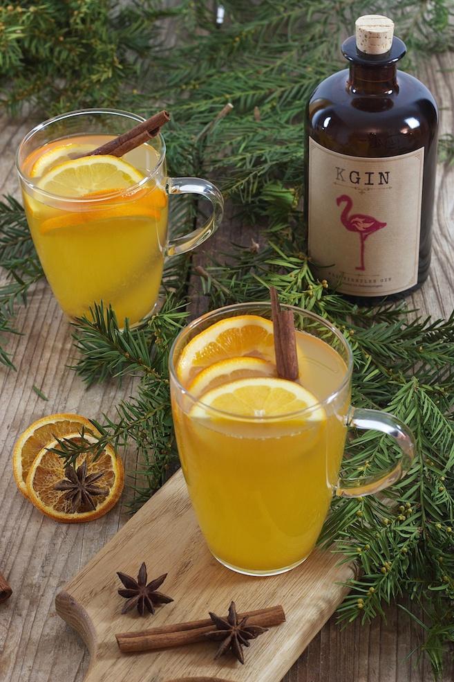 Glüh Gin mit Weinviertel Gin der Brennerei Kraus kreiert von Sweets & Lifestyle®
