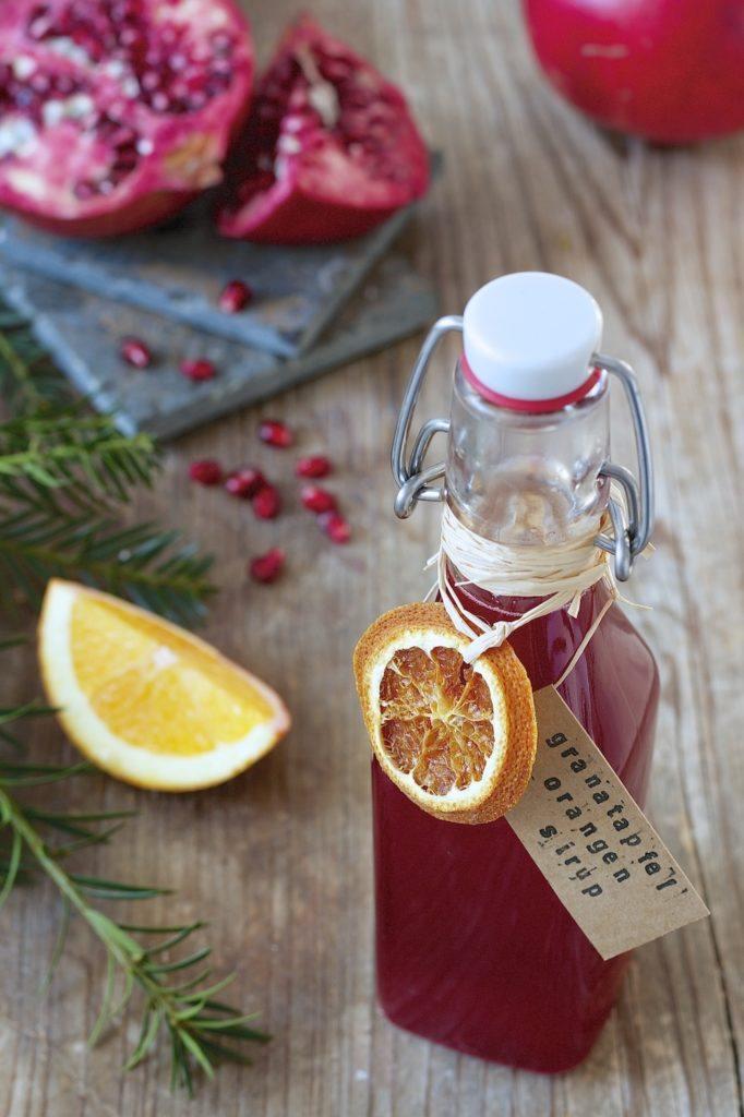 Granatapfel Orangen Sirup von Sweets & Lifestyle®