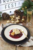 Lebkuchenparfait mit Rotweinzwetschgen von Sweets & Lifestyle®