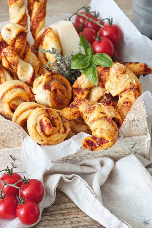 Pizzaschnecken Rezept von Sweets & Lifestyle®