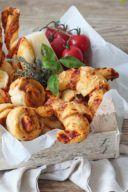 Rezept für Pizzaschnecken als Fingerfood von Sweets & Lifestyle®